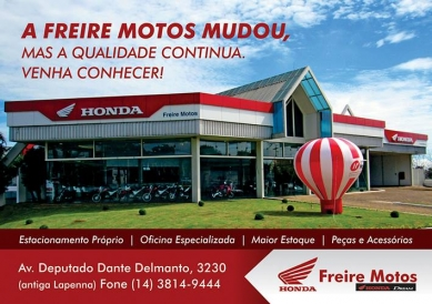 Freire Motos Botucatu